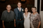 Bride with Grandpa Julian and Ouma Bets
