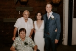 Bride with Oupa Joe en Ouma Heleen